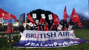 British Airways cabin crew to stage fresh strike over 'poverty pay'
