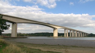 Severe flooding could occur near the River Orwell.