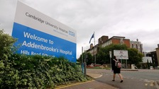Addenbrooke's Hospital in Cambridge.