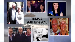 Who were the Midlands victims of the Tunisia attacks?