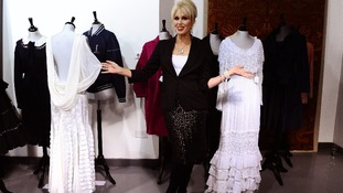 Ab Fab star auctions off famous outfits for charity