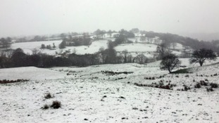 Snow in East Lancashire
