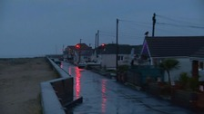 Residents in Jaywick evacuated and taken to a nearby rest centre.
