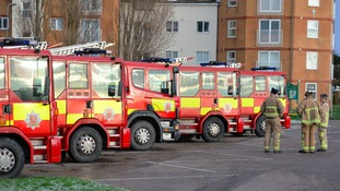 Emergency services in Jaywick.