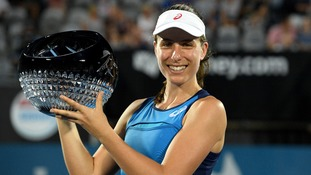 British No.1 Konta wins second WTA tour career title