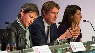 Mary Creagh MP, Tristam Hunt MP, and Liz Kendall MP