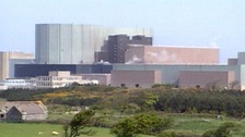 Wylfa power station in North Wales