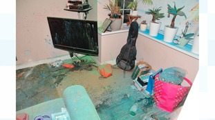 house vandalism leaves police and owners shocked tyne tees itv news. Black Bedroom Furniture Sets. Home Design Ideas