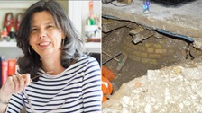 This was the well where author Helen Bailey's body was found