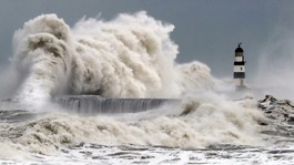 Relief as expected storm surge fails to wreak havoc and flooding
