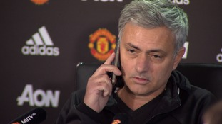 It's for you! Mourinho jokes with media as phone call interrupts big match build-up