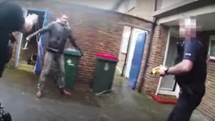 Convicted murderer jailed for 'horror' hammer attack on police