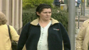 Lorraine Allen om Derbyshire wants compensation after being wrongly convicted of killing her baby son
