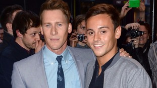 Tom Daley's fiance urges more gay sportsmen to 'come out and save lives'