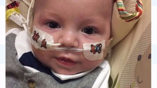 Baby boy given just four hours to live defies odds - and is now 19 weeks old