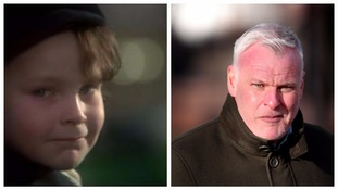 Stephens as Damien in the Omen and how he looks today.