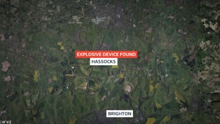 Hassocks is north of Brighton in Sussex