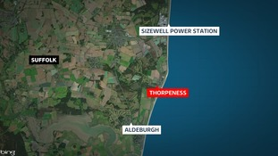 A man's died after a cliff collapse on the Suffolk coast