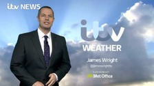 James has the latest ITV Meridian weather