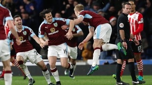 Premier League match report: Burnley 1-0 Southampton