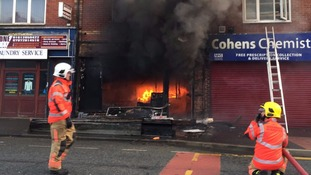 3 engines called to fire in Harpurhey