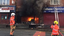 One person injured in north Manchester cafe explosion