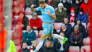 Premier League match report: Sunderland 1-3 Stoke