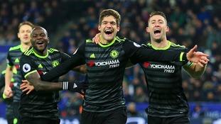 Premier League match report: Leicester City 0-3 Chelsea