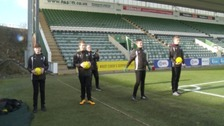 Meet the Argyle ball boys manning the sidelines