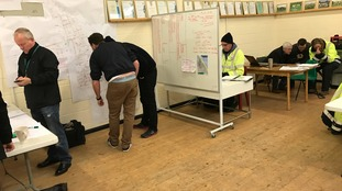 Inside the incident room set up to help Withernsea's 6,000 residents