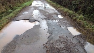 Drift Lane near Sheldon in Devon Credit: Anne Plumridge