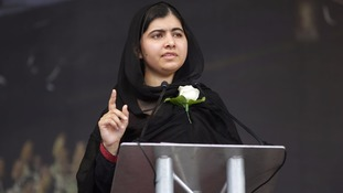 Malala's father opens new charity office in Liverpool