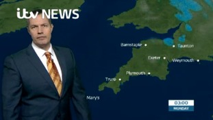 Your latest South West weather with James Wright