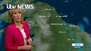 VIDEO: Sunday's forecast for the North East region
