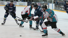 Giants rally late but fall to Stars in shootout