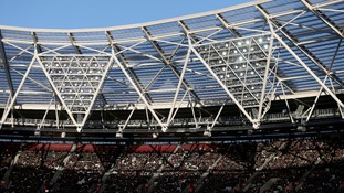 A general view of West Ham United's London Stadium.