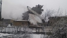 'At least 37 killed' as cargo plane crashes in Kyrgyzstan