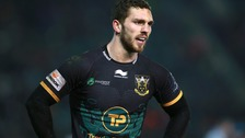 George North plays down head injury concerns