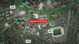 Pedestrian suffers life-threatening injuries after Sheffield collision