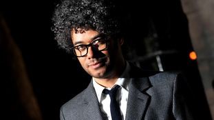 Comedian Richard Ayoade is best known as Maurice Moss in The IT Crowd.