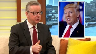 Michael Gove says Donald Trump has 'soft spot' for Britain and praise for Angela Merkel