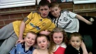 Duwayne, Jade, John, Jack, Jessie and Jayden Philpott