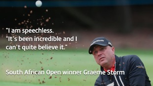 'A dream come true.' Hartlepool golfer Graeme Storm on his South African Open win
