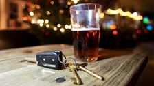 Double number of drivers caught over the alcohol limit this festive period