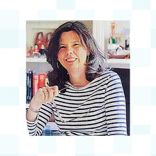 Murdered author Helen Bailey. Her partner Ian Stewart is on trial accused of killing her