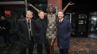 Statue of Liverpool legend Cilla Black unveiled