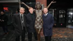 Statue of Liverpool legend Cilla Black unveiled