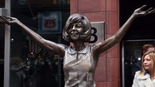 Cilla Black statue unveiled at Cavern Club in Liverpool