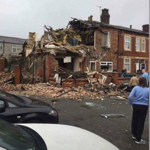 Explosion in Blackley