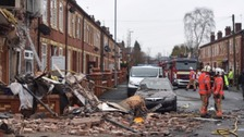 Five injured after explosion at house in Manchester